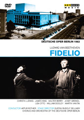 Beethoven: Fidelio / Rother, Ludwig, King, Berry, Greindl [DVD]
