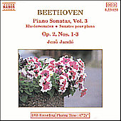 Beethoven: Piano Sonatas Vol. 3