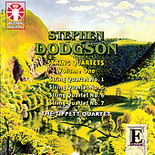 Dodgson: String Quartets Vol 1 / Tippett Quartet