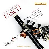 Fasch: Ouverture grosso in D major, etc / Roberts, Stone, Ngai, Tempesta di Mare