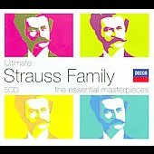 Ultimate Strauss Family - Waltzes, Marches and Polkas / Boskovsky, Vienna Philharmonic Orchestra