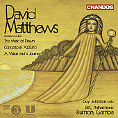 Matthews: Music of Dawn, Concerto in Azzurro, etc / Gamba, et al
