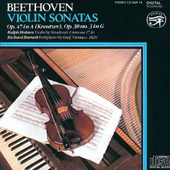 Beethoven: Violin Sonatas Op 47 and 30 /