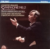 Brahms: Symphonie Nr. 2; Haydn-Variationen