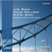 Johann Sebastian Bach, Carl Ph.E. Bach, Heinz Holliger: Works For Flute Solo