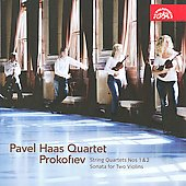 Prokoviev: String Quartet 1 & 2; Sonata for Two Violins