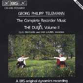Telemann: Complete Recorder Duets Vol 2 / Pehrsson, Laurin