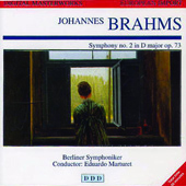Brahms: Symphony no. 2 in D Major op 73 / Marturet, Berlin