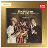 Verdi: Rigoletto [Highlights] / Beverly Sills, Sherrill Milnes, Alfredo Kraus and Mignon Dunn