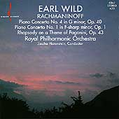 Rachmaninov: Piano Concertos 1 & 4, etc / Wild, Horenstein