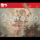 Marcello: Concertos a cinque, Op.1/1-12; 5 Sinfonias / Franco Fantini, Tino Bacchetta, Genunzio Ghetti