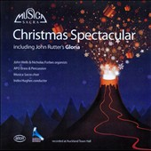 Christmas Spectacular / John Wells & Nicholas Forbes, organ; APO Brass & Percussion; Indra Hughes, Musica Sacra