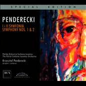 Krzysztof Penderecki: Symphonies Nos. 1 & 2