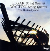 Elgar: String Quartet; Walton: String Quartet