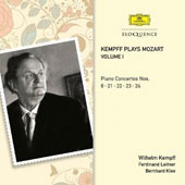 Kempff Plays Mozart, Vol. 1