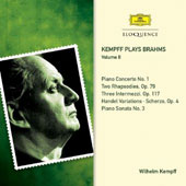 Kempff Plays Brahms, Vol. 2