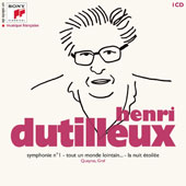 A Century Of French Music - Henri Dutilleux (1916-2013): Symphony No. 1; Tour un monde lointain; La nuit etoilee / Various Artists