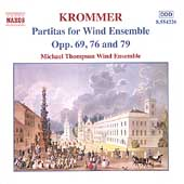 Krommer: Partitas for Wind Ensemble Vol 3 / Michael Thompson