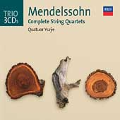 Trio - Mendelssohn: Complete String Quartets / Quatuor Ysa&#255;e Quartet