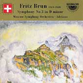 Brun: Symphony no 3 / Adriano, Moscow SO