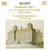 Haydn: Symphonies nos 6-8 / Ward, Northern CO