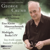 George Crumb Edition Vol 9 / Arnold, Arciuli