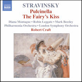 Stravinsky: Pulcinella, Le baiser de la f&eacute;e / Craft, et al