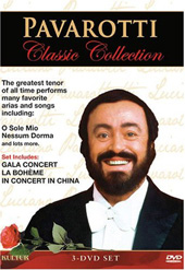 Luciano Pavarotti / Magiera, Buckley / Classic Collection [3 DVD]