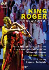 Szymanowski: King Roger / Mark Elder/Vienna SO, Hendricks, Pasichnyk, Graham-Hall [DVD]