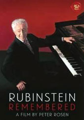 Arthur Rubinstein Remembered, interviews, vintage stills, newsreels, home movies, interviews & performance footage, narrated by son John Rubinstein. A film by Peter Rosen [DVD]