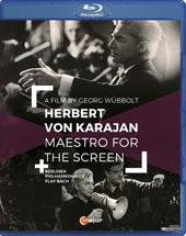 Herbert von Karajan, Maestro for the Screen - J.S. Bach: Brandenburg Concerto No. 3; Suite No. 2. A documentary including interviews with Karajan and his collaborators (rec. 1967-1968) [Blu-ray]