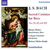 Bach: Sacred Cantatas for Bass / M&uuml;ller-Brachmann, et al