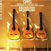 Grieg: Holberg Suite, etc / Netherlands Guitar Trio