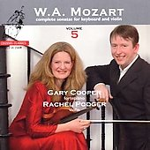 Mozart: Complete Sonatas for Keyboard and Violin Vol 4 / Gary Cooper, Rachel Podger