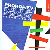 Classics - Prokofiev: The Prodigal Son, etc / Järvi, Royal Scottish National Orchestra