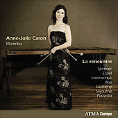 Lozowchuk: La Rencontre;  Spencer, Metheny, Piazzolla, Abe, etc / Anne-Julie Caron