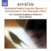 Janácek: Opera Suites Vol 2 / Breiner, Leppanen, New Zealand SO