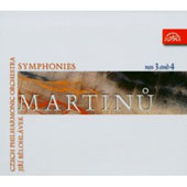 Martinu: Symphonies Nos. 3 & 4