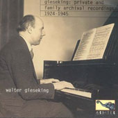 Gieseking private recording 1924-45