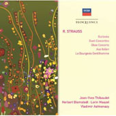 Strauss: Burleske/Duet Concertino/Oboe Cto
