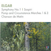Elgar: Symphony No. 1; Sospiri; Pomp and Circumstance Marches 1 & 3; Chanson de Matin / Sydney, Tasmanian, West Australian & Queensland SO's; Heinz; Stanhope; Measham; Thomas