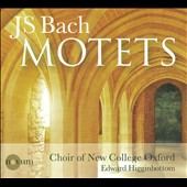 J.S. Bach: Motets / Higginbottom, Choir Of New College Oxford
