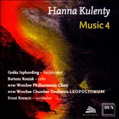 Hann Kulenty: Music 4 / Goska Isphording, harpsichord; Bartosz Koziak, cello.