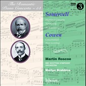 Romantic Piano Concerto Vol. 54 / Somervell: Piano Concerto in A minor 'Highland'; Normandy / Martin Roscoe, piano