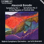 Borodin: Symphonies no 1 & 2, etc / Hirokami, Malmö SO