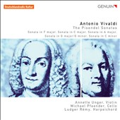 Vivaldi: The Pisendel Sonatas for violin and continuo / Annette Unger, violin; Michael Pfaender, cello; Ludger Rémy, harpsichord