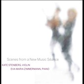 Scenes from a New Music Séance - works by Cowell, Crawford, Antheil, Hovhaness et al. / Kate Stenberg, violin; Eva-Maria Zimmermann, piano