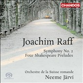 Joachim Raff: Symphony No. 2; Four Shakespeare Preludes / Jarvi