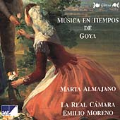 M&#250;sica En Tiempos De Goya / Marta Almajano, Emilio Moreno