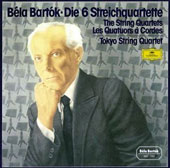 Bartok: The String Quartets Nos. 1-6